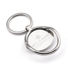 Classic Engraved Keychain With Bottle Opener