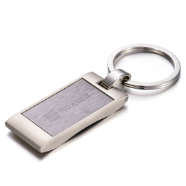 Engraved Metal Keychain